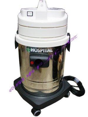 (含稅價)緯軒(底價24000不含稅)義大利原裝進口 HOSPITAL 8加崙32L無塵室專用 吸塵器