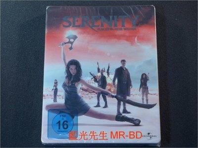 [藍光BD] - 衝出寧靜號 Serenity BD-50G 環球影業100週年限定鐵盒版