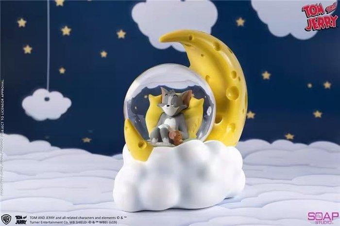 Soap Studio 肥皂游 CA301 貓和老鼠 芝士月亮水晶球 湯姆傑瑞