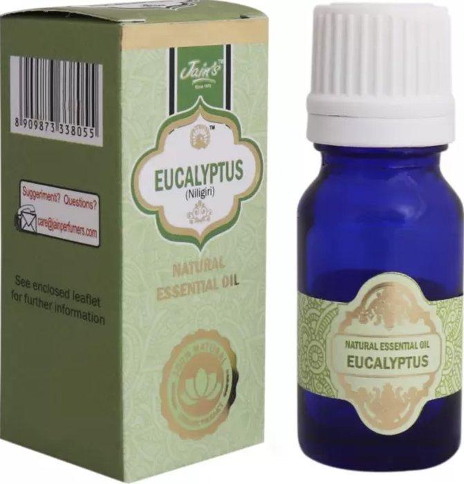 [綺異館]印度精油 尤加利 10ml JAIN'S EUCALYPTUS 另售印度皂 印度香