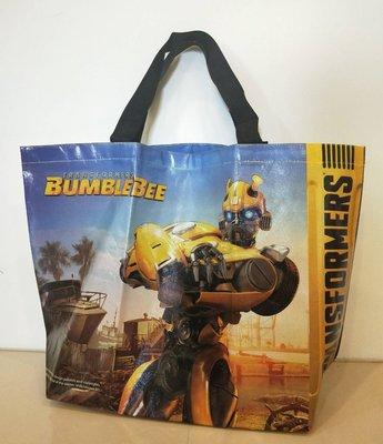 現貨【全新未拆】 變形金剛 大黃蜂 Transformer Bumble Bee 環保袋 提袋 購物袋 $150