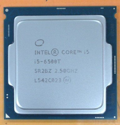 【含稅】Intel Core i5-6500T 2.5G 4C4T 1151 低功耗 35W 正式CPU 一年保 台中市