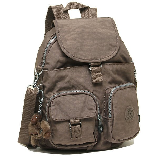 KIPLING BASIC 13108-757 FIREFLY 後背包 翻蓋 束口 書包 小猴子♡LUCI日本代購♡