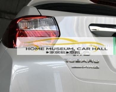 斯巴魯Subaru森林人新Forester Out新款back 傲虎XV力獅馳鵬四驅車標貼尾門車貼四驅改裝標 貼紙  改裝  車標KP02