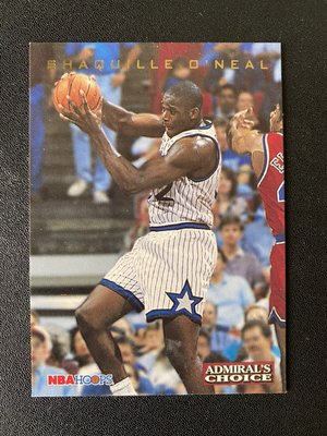 Shaquille O'Neal 1993-94 Hoops Admiral's Choice #AC4