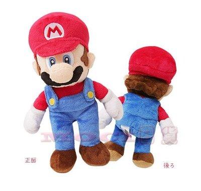 日本正版 超級瑪莉歐 瑪莉兄弟  娃娃 玩偶 公仔 玩具擺飾S 任天堂 【MOCI日貨】瑪利歐 MARIO