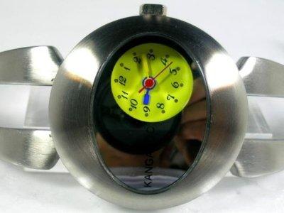 六四三鍾錶精品店@KANGAROO(真品)手錶獨眼龍個性造型全不銹鋼不退色!!