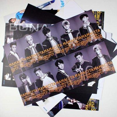 【預購】韓國明星super junior海報 SJ SuJu SuJr韓庚周邊 一套八張 42CM*29CM