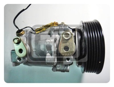 【TE汽配通】NISSAN 裕隆 MARCH K11 98-00年 自排 冷氣 壓縮機 精工型 外匯整理新品