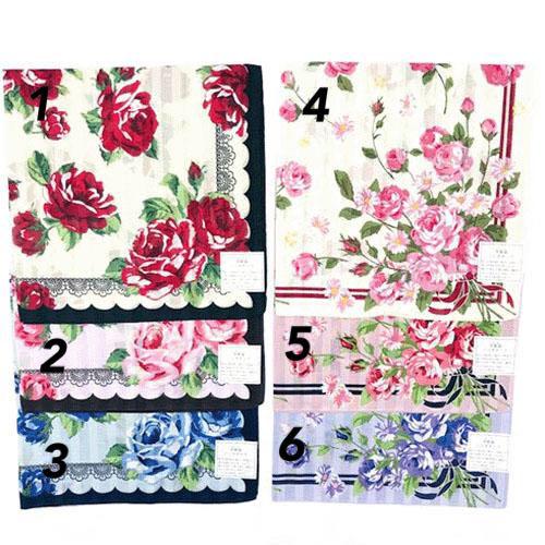 玫瑰花系列手帕
