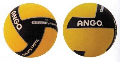 【線上體育】ANGO 排球 橡膠 RV5AGNEWEQ-KY#5黑黃