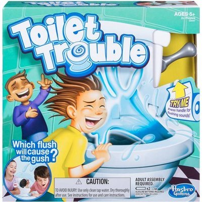 Toilet Trouble Game 古惑馬桶