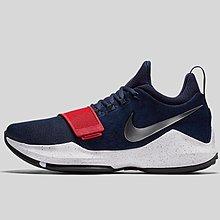 """球鞋瘋 Nike PG 1 """"USA"""" 男 紅藍 美國隊配色 籃球鞋 878628-900"""