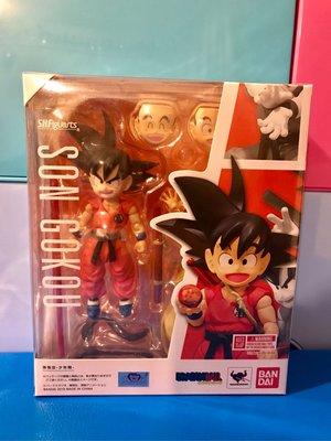 日版 初版 Bandai SHFiguarts Dragon ball 龍珠 孫悟空 (童年時期)模型 figures