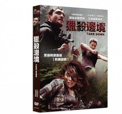 合友唱片 面交 自取 獵殺邊境 (DVD) Take Down