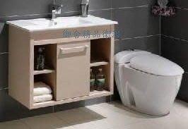 御舍精品衛浴*滑門浴櫃組SI-80