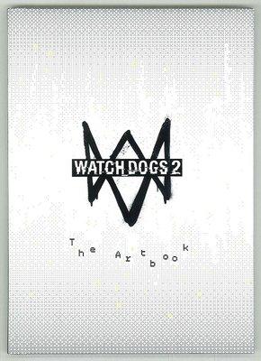 [裘比屋]特-PS4 看門狗 2 Watch Dogs 2 特典 畫冊 (約:62頁) 603
