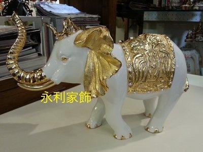皇家 招財大象擺飾//客廳裝飾 創意家...