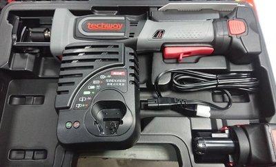 易威工作坊 鐵克威 Techway 14.4V 電動軍刀鋸 充電式軍刀鋸 2.0AH電池