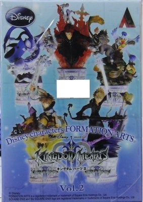全新 SQUARE ENIX DISNEY 迪士尼 王國之心 FORMATION ARTS VOL 2 五入一組
