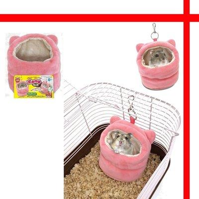 【格瑞特寵物】日本MARUKAN 耳朵造型吊掛保暖棉窩 MR-357
