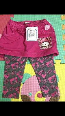 全新 正貨 Sanrio Hello Kitty 長褲 裙褲 95碼, 新年衫, 可即日交收