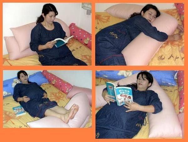 ~雁渟屋~高級混紡棉.台灣製造~大型多功能孕婦抱枕..哺乳枕.側睡枕.多款花色