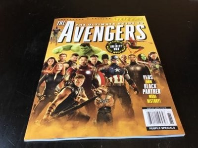 ENTERTAINMENT WEEKLY The Ultimate Guide to Avengers INFINITY WAR 復仇者聯盟3無限之戰 訂