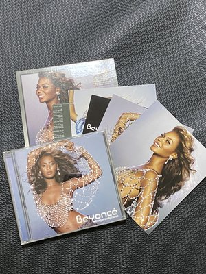 CD 碧昂絲 危險愛情 Beyonce  dangerously in love 還有明信片 二手 保存非常良好