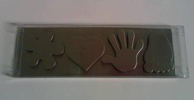 磁鐵組(花朵,愛心,手,腳掌)