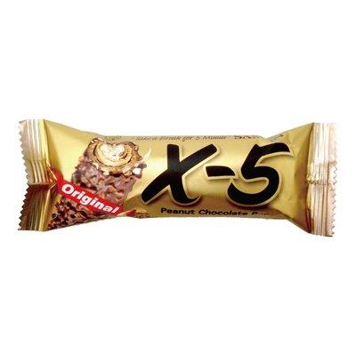 韓國 X-5 脆心花生巧克力 捲心酥 36g 單一包裝 高雄市