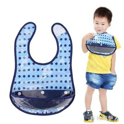 【蘑菇小隊】圍兜寶寶食飯兜棉質防水嬰兒童小圍嘴口水巾 tx1838【棉花糖伊人】-MG52506