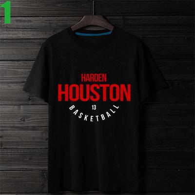 【詹姆士·哈登 James Harden HOUSTON】短袖NBA籃球T恤 任選4件以上每件400元免運費!【賣場一】