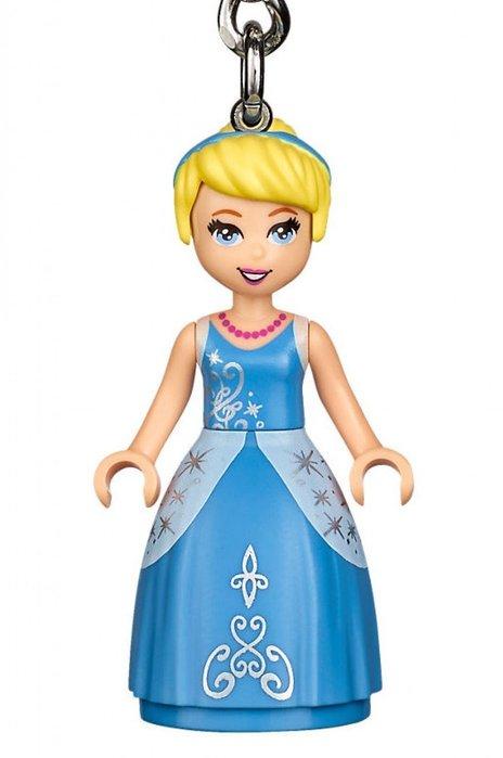 現貨【LEGO 樂高】全新正品 積木 鑰匙圈 人偶 吊飾 迪士尼 公主系列   灰姑娘 仙杜瑞拉 Cinderella