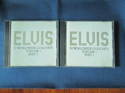 [非新品] Elvis Presley-50 Worldwide Gold Hits (2 CD Set)-1990