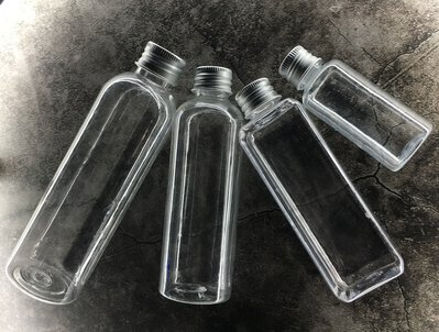 【30ml 無內塞】 塑膠瓶 分裝瓶 透明瓶 鋁蓋瓶 空瓶 試樣瓶 分裝 旅行收納 墨水瓶乳液瓶