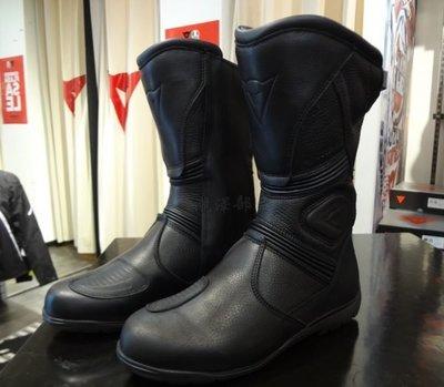 瀧澤部品 義大利 DAINESE 丹尼斯 FULCRUM GT GORE-TEX 黑 防水車靴 長筒靴 休閒防護 通勤