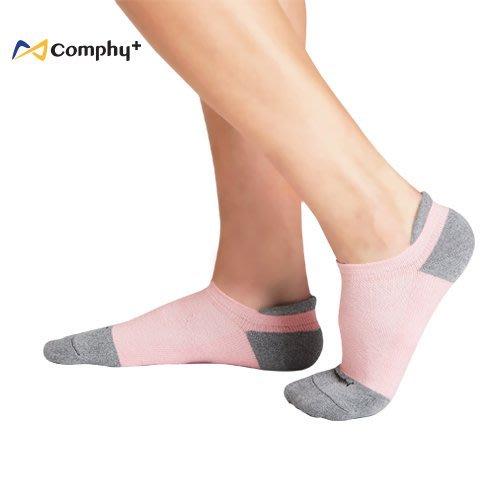 【線上體育】COMPHY+ 阿瘦集團 勁能踝上襪-粉色  M