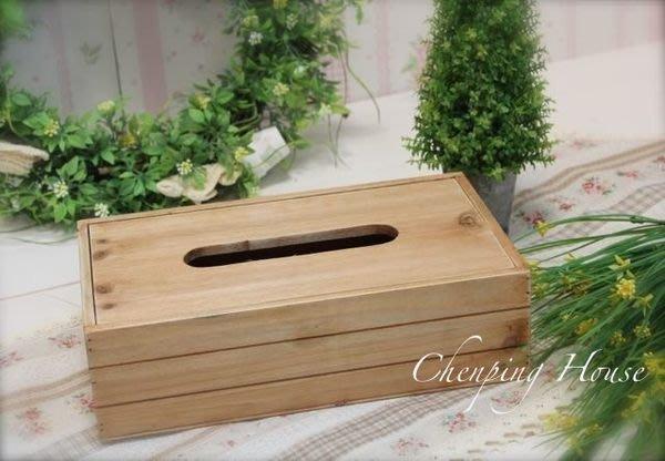 ~誠萍生活家具~ zakka風格 復古做舊 實木面紙盒 / 紙巾盒~直購價$299