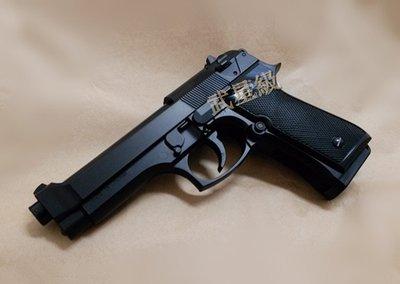 台南 武星級 HFC 貝瑞塔 M92 空氣槍 高比重仿真版 (BB槍BB彈玩具槍短槍手槍 M92FS M9 92