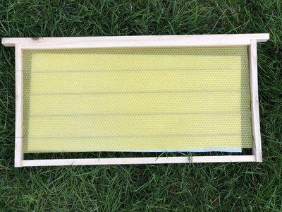 養蜂工具 銅峰養蜂工具巣框鐵絲養蜂用蜂箱組裝穿好鐵絲杉木巢框10個裝