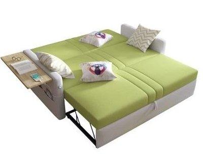 沙發床多功能推拉可折疊簡約現代1.8米乳膠雙人兩用客廳1.5小戶型