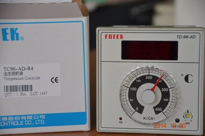 陽明 Fotek P+D溫度控制器 TC96-AD