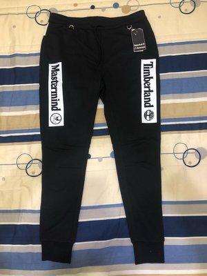 全新 Mastermind x Timberland 縮口褲 黑色 size:m M 長褲