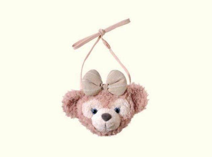天使熊雜貨小舖~日本海洋迪士尼限定 雪莉玫絨毛零錢包 票卡夾  全新現貨