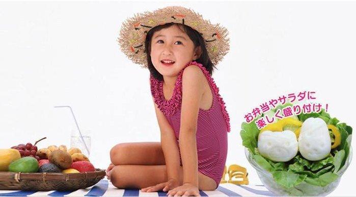 Amy烘焙網:日式可愛水煮蛋壓模 一組兩入  日式便當  一組兩入