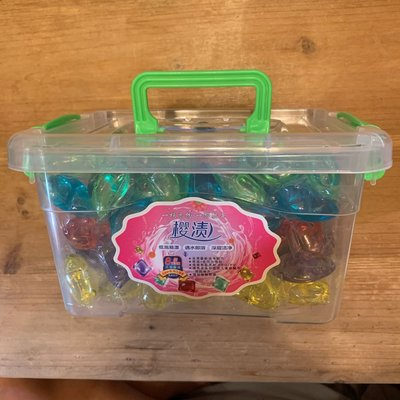 心型洗衣膠囊(大盒110粒裝)一顆只要$1.5