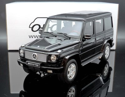 【M.A.S.H】現貨特價 OTTO 1/18 Mercedes-Benz G-Class 55 AMG black