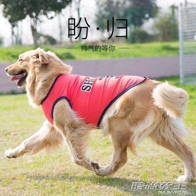 大狗狗衣服夏裝薄款夏天背心大型中型犬寵物金毛薩摩耶哈士奇夏季DBX