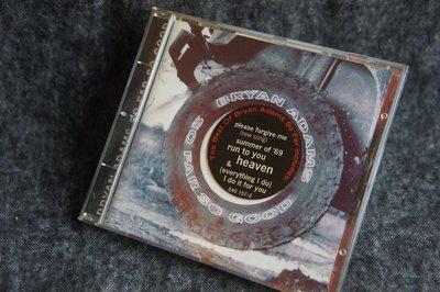 CD / Bryan Adams - So Far So Good / 布萊恩亞當斯